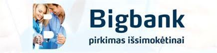 Bigbank pirkimo išsimokėtinai logotipas