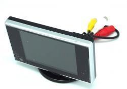 Monit.PMX MN12 3.5' 320x240 pastat.PAL/N Automobilių kameros ir monitoriai