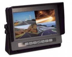 Monit.PMX MN5WQ 7' past.PAL/NTSC 4CH van Automobilių kameros ir monitoriai