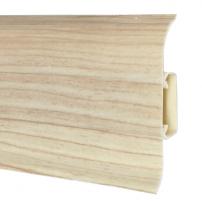 Plinth PVC 504 FLEX SMART Maple Skirting (pvc, fiberboard, wood)