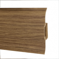 Grindjuostė PVC 2,5 m 508 FLEX SMART ąžuolas tamsus Grindjuostės (PVC, MPP, medžio)