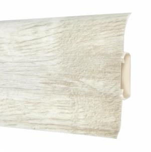Plinth PVC Grindjuostė 5101 FLEX SMART Siberian oak Skirting (pvc, fiberboard, wood)