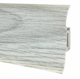 Plinth PVC 5102 FLEX SMART Norwegian spruce Skirting (pvc, fiberboard, wood)