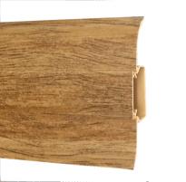 Plinth PVC 5104 FLEX SMART Andalusian oak Skirting (pvc, fiberboard, wood)