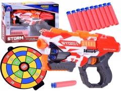 """""""Storm"""" šautuvas su 20 putų šovinių ir skydu"""