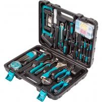 100 dalių įrankių rinkinys naujakuriams BORT BTK-100 Įrankių komplektai