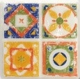 11.5*11.5 D-MAJOLIKA QUARTET 2, decorative tile