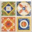 11.5*11.5 D-MAJOLIKA QUARTET 3, decorative tile