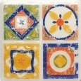 11.5*11.5 D-MAJOLIKA QUARTET 4, decorative tile