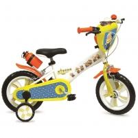 12 Vaikiškas dviratis 2-4 ratų (iki 40kg, ūgis 90-110cm) Minions Bikes for kids