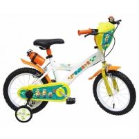 14 Vaikiškas dviratis 2-4 ratų (iki 50kg, ūgis 95-115cm) Minions 2290