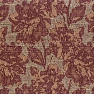 18542 ALTAGAMA SEMPRE 10,05x0,53 m flower wallpaper, bordo