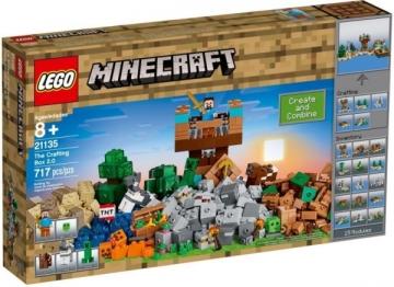 21135 LEGO® Minecraft Kūrybiškumo dėžė 2.0, nuo 8m. NEW 2017! LEGO ir kiti konstruktoriai vaikams