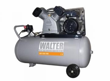 WALTER GK420-2.2/100 stūmoklinis oro kompresorius su 100 L resiveriu Stūmokliniai oro kompresoriai
