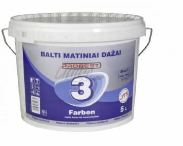 Paint Probest 3 matt 5 ltr. Emulsion paint