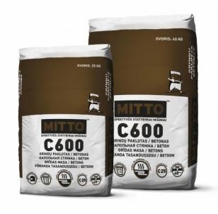 MITTO Betonas / grindų paklotas C600 25kg Mūro mišiniai