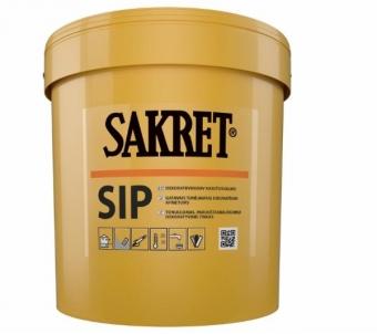 Silikoninis tinkas Sakret SIP 2 mm samanėlė 25kg Dekoratyviniai tinkai