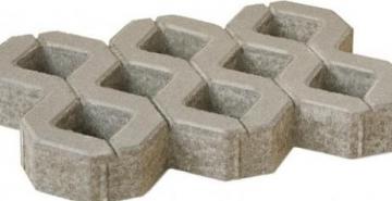 Sidewalk brick AP EKOLOG-8-F200 Sidewalk tiles