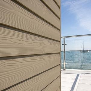 Fibre cement Cedral external cladding C03 (Grey Brown) Fibre cement lining (facade)