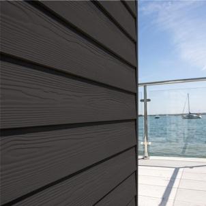 Fibre cement Cedral external cladding C04 (Dark Brown) Fibre cement lining (facade)