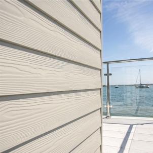 Fibre cement Cedral external cladding C07 (Cream White) Fibre cement lining (facade)