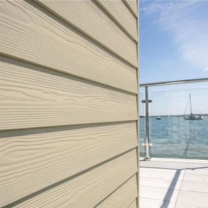 Fibre cement Cedral external cladding C08 (Sand Yellow) Fibre cement lining (facade)
