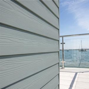 Fibre cement Cedral external cladding C10 (Blue Grey) Fibre cement lining (facade)