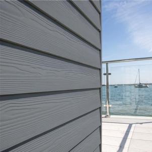 Fibre cement Cedral external cladding C15 (dark grey) Fibre cement lining (facade)