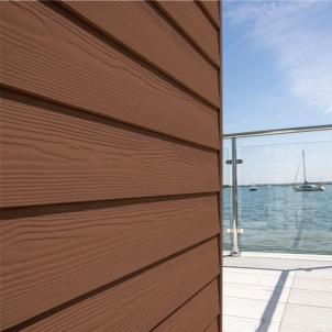 Fibre cement Cedral external cladding C30 (brown) Fibre cement lining (facade)