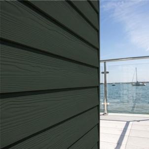 Fibre cement Cedral external cladding C31 (green) Fibre cement lining (facade)