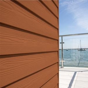 Fibre cement Cedral external cladding C32 (orange brown) Fibre cement lining (facade)