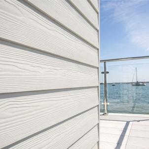 Fibre cement Cedral external cladding C01 (white) Fibre cement lining (facade)