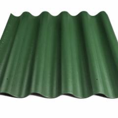 Beasbestinio šiferio lakštas 875x920 Eternit Banga žalias Beasbestinis šiferis