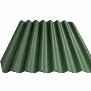Beasbestinio šiferio lakštas 1130x1250 Eternit Klasika žalia Beasbestinis šiferis