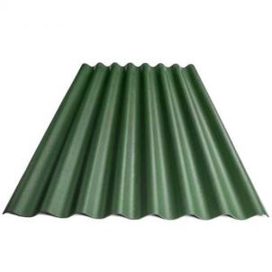 Non-asbestos slate sheets 1750x1130 'Klasika L' green Non-asbestos slate