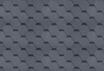 Bitumen roof shingles SONATA VERSALLES, grey Bitumen roof shingles (tiles)