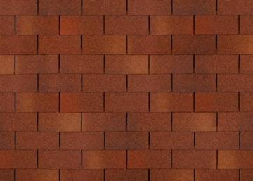 Bitumen roof shingles TRIO SUPER, redi-brown Bitumen roof shingles (tiles)