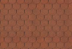 Bitumen roof shingles TANGO SUPER, autumn red Bitumen roof shingles (tiles)