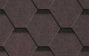 Bitumen roof shingles Plano Tema brown Bitumen roof shingles (tiles)
