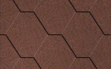 Bitumen roof shingles Plano Natur grey Bitumen roof shingles (tiles)