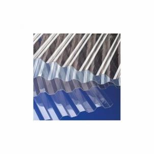 Banguotas PVC lakštas sinus 900x3000 mm (2,7 kv.m) skaidrus PVC ir polikarbonato lakštai