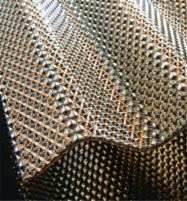 Banguotas polikarbonato lakštas su korio efektu (Diamond) 2,8x1045x4000, bronza PVC ir polikarbonato lakštai