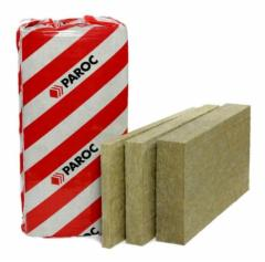 Stone wool General insulation slab PAROC eXtra plus 50x1220x610 Stone wool insulation in general builders
