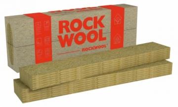 Facade stone wool insulation lamella slab Rockwool Fasrock LL 80x200x1200 Facade insulation rock wool rendered