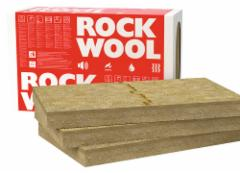 Dual-density rigid slab for external wall systems Frontrock MAX E 1000x600x100 Facade insulation rock wool rendered