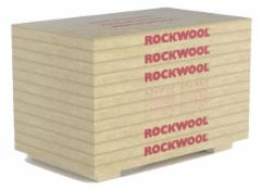 Stone wool slabs Rockwool Manrock PRO 100x1200x2000 Stone wool insulation in the roof of the match
