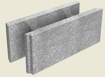 Fibo pamatiniai blokeliai 200 mm Rūsio sienų (pamatų) blokai