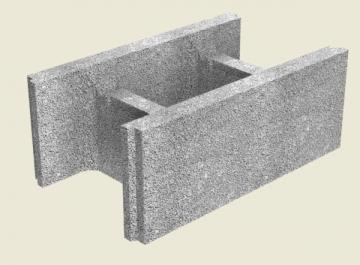 Fibo pamatu bloks 300 mm Pagraba sienu (pamatu) bloki