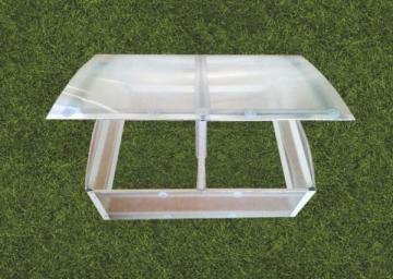 Daigynas Klasika (0,93 m2) su 4mm polikarbonato danga Šiltnamiai