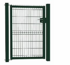 Hot dipped galvanized Swing Gates (single leaf) 1000x1000 (filler-segment) painted